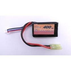 Batteria LiPo 7,4 V PEQ 400 mAh (alimentazione VB)
