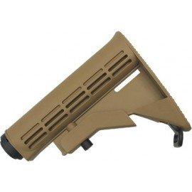 King Arms Lacrosse M4 Ajustable w / Tube Desert Lacrosse