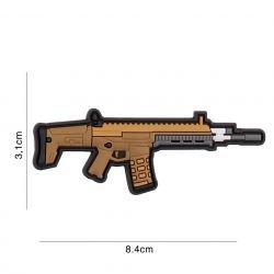 Patch 3D in PVC Scar-L Desert