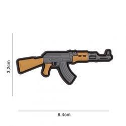 Patch 3D PVC Kalashnikov AK47 (101 Inc)