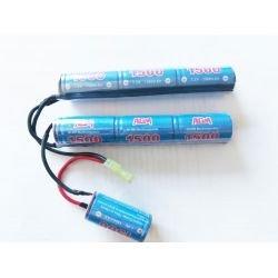 Batterie NiMh 8,4v Large Triple 1500 mAH (A