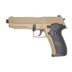 Pistolet AEP P226 Désert Métal (Cyma CM122TN)