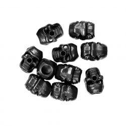 Bouchon Cordon Skull Noir (101 Inc)