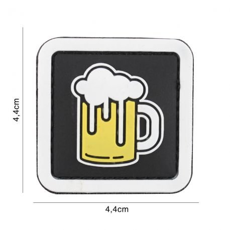 Patch 3D PVC Chope de Bière