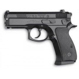 ASG CZ75-D Kompakter Festzylinderkopf aus Metall (ASG 15564) RE-AS15564 Co2-Co2-Pistole