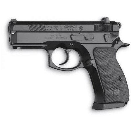 replique-CZ75-D Compact Culasse Fixe Metal Co2 (ASG 15564) -airsoft-RE-AS15564