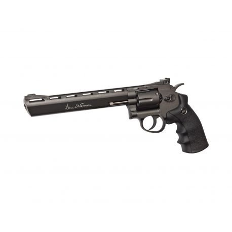 "Revolver Dan Wesson 8"" Gris High Power (ASG 16182)"