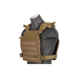 Gilet Plate Carrier Léger OD (Lancer Tactical)