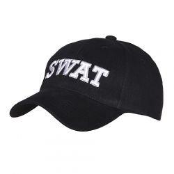 Casquette Baseball SWAT Noir (101 Inc)