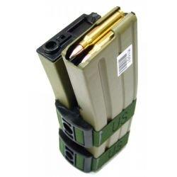 Double Chargeur M4 Electrique 800 Billes Désert