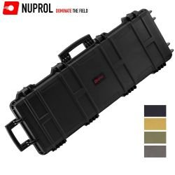 Malette reforzado Nuprol impermeable 103x33x15cm negro