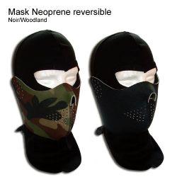 Masque Néoprène Réversible Woodland / Noir (Kgear KGC0012)
