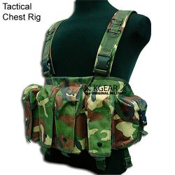 Chest Rig Woodland (Kgear KGG0304)