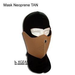 Masque Néoprène Réversible Désert / Noir (Kgear KGC1307)