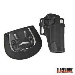 Holster CQC Glock Finition Carbone (BlackHawk)