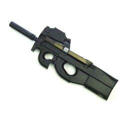 SMG P90 w/ Red Dot et Silencieux (JS Tactical)