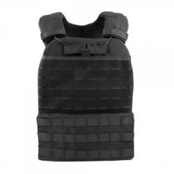 Veste Plate Carrier Tactique Noir (WS)