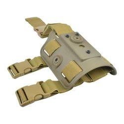 Plateforme Cuisse Holster CQC Desert (WS / Amomax)