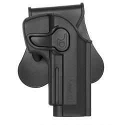 Holster Droitier CQC Beretta M9/M92 Noir (Amomax / Cytac)