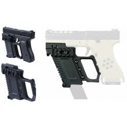 Kit Tactique Glock G17 / G18 / G19 Noir (DragonPro)