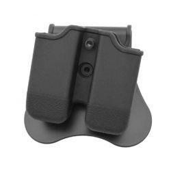 Poche Chargeur CQC Pistolet (x2) Noir (Amomax / Cytac)