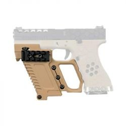 Kit Tactique Glock 17 / 18 / 19 Serie Desert (DragonPro)