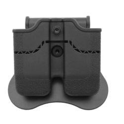 Poche Chargeur CQC Colt 1911 (x2) Noir (Amomax / Cytac)