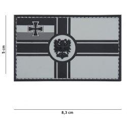 3D PVC Flagge Deutschland Patch 1914 (101 Inc)