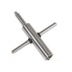We clé de valve pour chargeur gaz