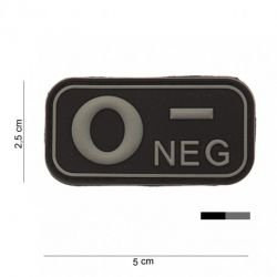 3D PVC blutiger O-Black Patch (101 Inc)