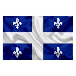 Drapeau Québec 150x100 cm