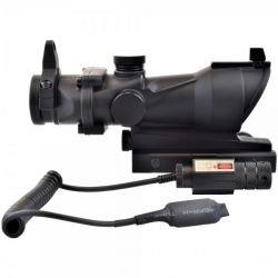 ACOG 30mm w/ Laser rouge contacte deporter