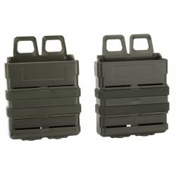 Porte Chargeur 7.62mm (x2) FastMag OD (S&T)