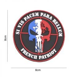 "Patch 3D PVC ""French Patriot"" France (101 Inc)"