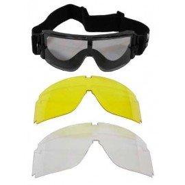 101 INC Lunette de protection GX 1000 AC-WP255120/BD2478 Masque balistique
