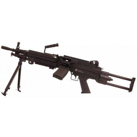 replique-M249 Para Fibre (Swiss Arms / S&T) -airsoft-RE-CB200814