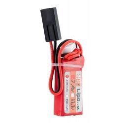 HPA Batterie LiPo 2S 7,4v 250mAh 25C (BO)