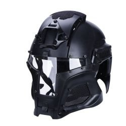 Casque Iron Warrior Noir (S&T)