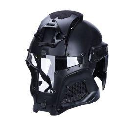 Casque Iron Warrior Noir