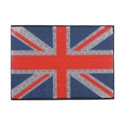 Patch 3D PVC Drapeau Royaume Uni Basse Visibilité (GFT)