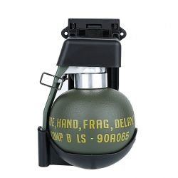 Grenade Factice M67 w/ Support Noir (JS)