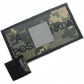 Patch Tissu Sanguin A+ ACU (King Arms)