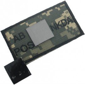 King Arms Patch Sanguin AB+ ACU (King Arms) HA-KAPCHABACU Patch en tissu