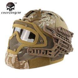 Helm / Maske G4 PJ mit Zubehör AOR1 (Emerson)