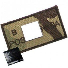 King Arms King Arms Patch Desert 3-Tons B+ HA-KAPCH-B-D3T Patch en tissu