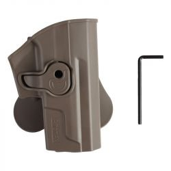 Holster CQC SP2022 Droitier Desert (Amomax / Cytac)