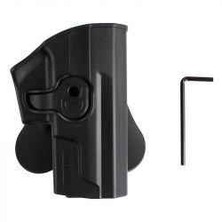 Holster CQC SP2022 Droitier Noir (Amomax / Cytac)