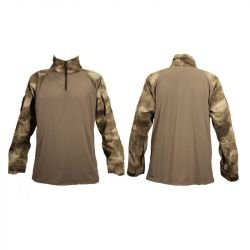 Combat Shirt A-Tacs Taille L (Swiss Arms 610174)