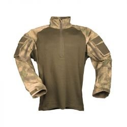 Combat Shirt A-Tacs FG Taille L (Swiss Arms 610178)