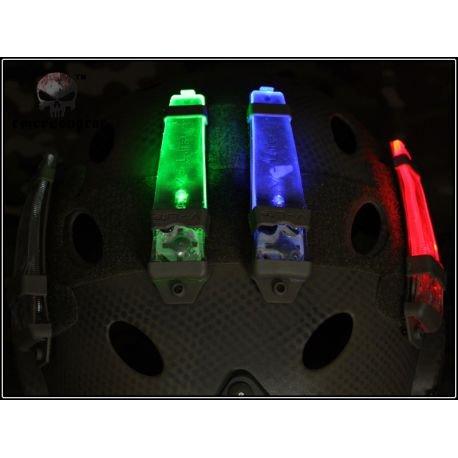 Lampe Posittionnement / V-Lite Distress Marker Rouge (Emerson)